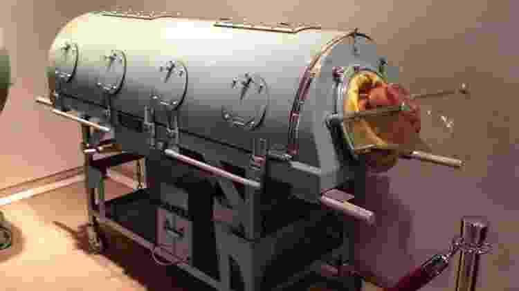 Pulmão de aço - Articseahorse/ Creative Commons - Articseahorse/ Creative Commons
