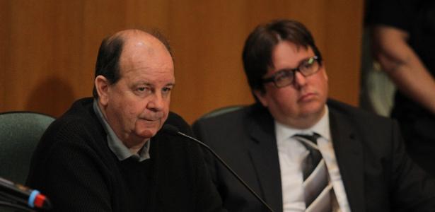 O ex-diretor da Área Internacional da Petrobras, Jorge Luiz Zelada (esq.)