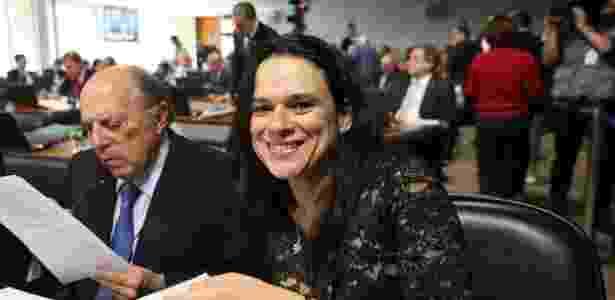 Os advogados de acusação Miguel Reale Júnior e Janaina Paschoal: presença constante na comissão do impeachment - Alan Marques - 8.jun.2016/ Folhapress