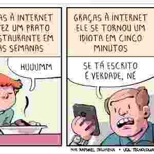 "21.jan.2017 - ""Graças à internet"" - Raphael Salimena/UOL"