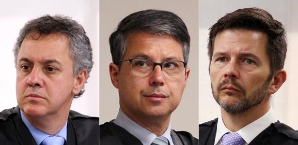 Da esquerda para a direita: Gebran Neto, Victor Laus e Leandro Paulsen
