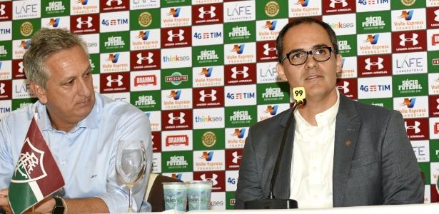 Marcus Vinicius Freire e Pedro Abad: parceria desfeita após poucos meses de trabalho