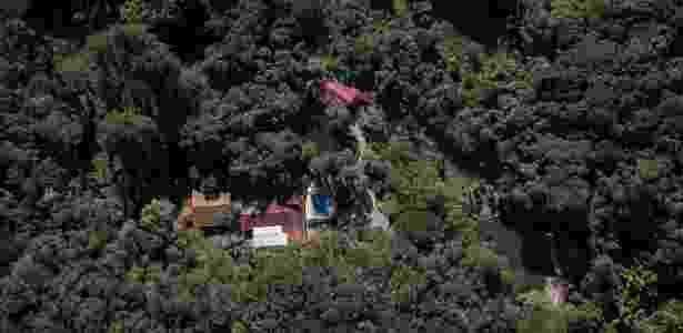 22.mai.2018 - Imagens do sítio em Atibaia (SP) que era usado pelo ex-presidente Lula - SPS/UOL - SPS/UOL