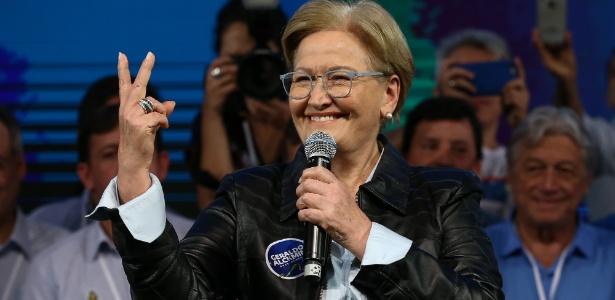 Senadora Ana Amélia (PP-RS), vice na chapa do presidenciável Geraldo Alckmin (PSDB)