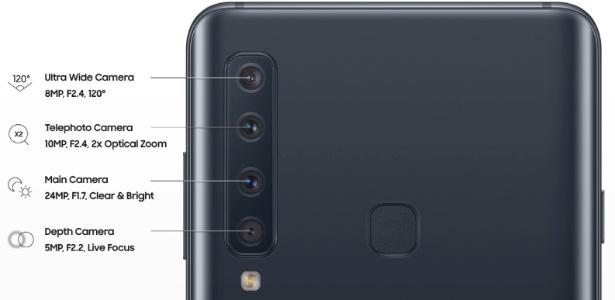 0aa59c9c7 Galaxy A9 com quatro câmeras e mais! Veja o que a Samsung deve anunciar