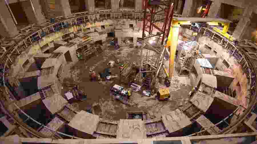 Reator de fusão nuclear Iter, com previsão de ser concluído em 2025 - Getty Images
