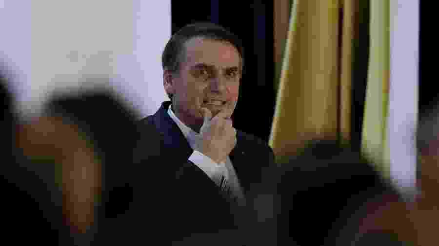 19.02.2019 - Presidente Jair Bolsonaro (PSL) - Pedro Ladeira/Folhapress