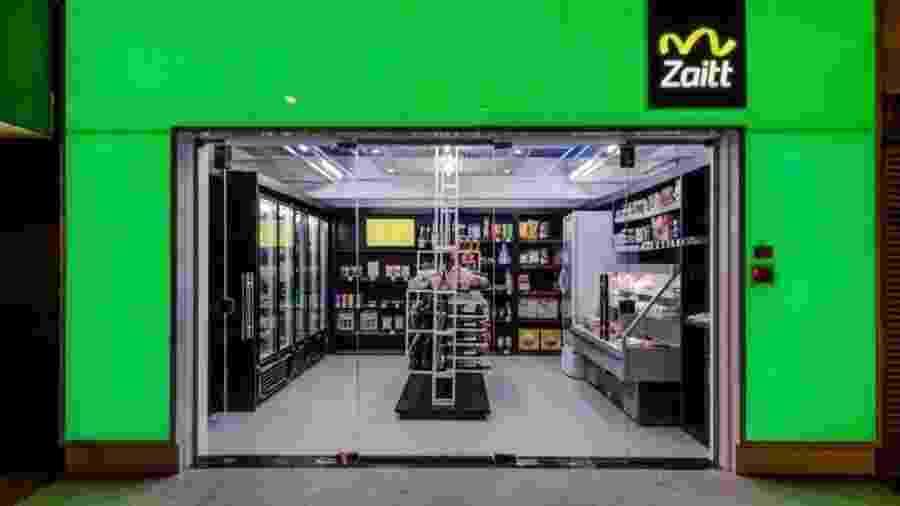 Consumidor precisa baixar aplicativo da loja Zaitt para ler QR Codes e pagar com cartão de crédito - Divulgação