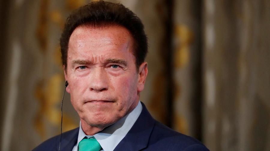 """Republicano, Schwarzenegger chamou tentativa de Trump de apontar uma suposta fraude nas eleições de """"estúpida, louca e maligna"""" - Gonzalo Fuentes/Reuters"""
