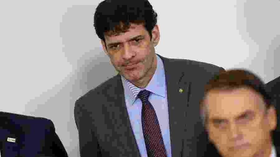 O ministro do Turismo, Marcelo Álvaro Antônio, é alvo de denúncia sobre esquema de candidaturas laranjas - Pedro Ladeira - 11.abr.19/Folhapress