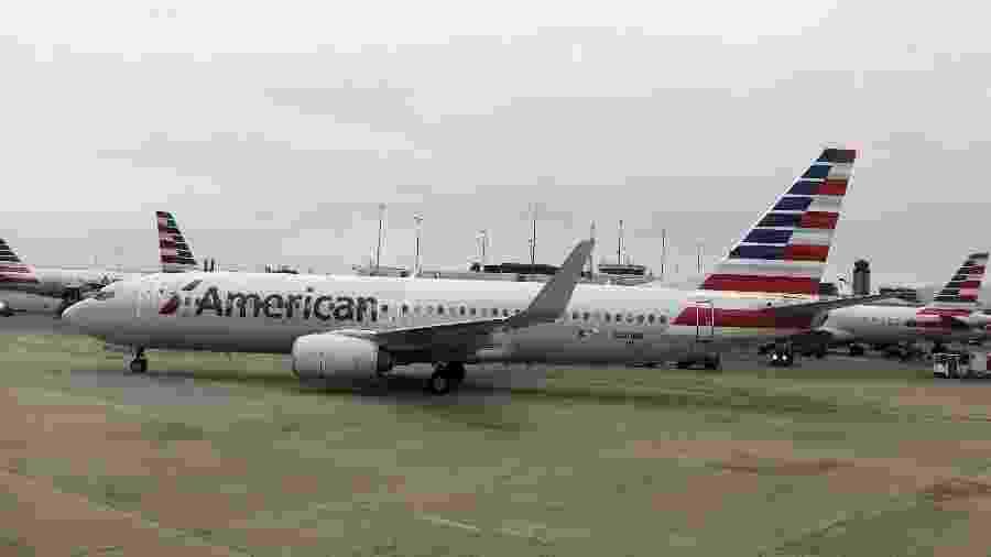 Aeronave da American Airlines - Daniel SLIM / AFP