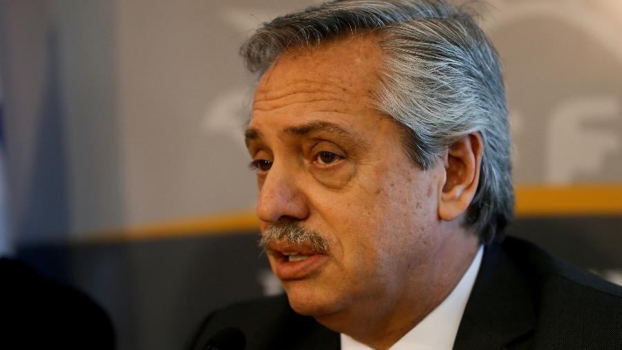 o presidente Alberto Fernández acionou Inadi após fala preconceituosa - Mariana Greif