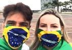 Guilherme de Pádua vai a manifestação política no DF: 'O Brasil vai mudar'