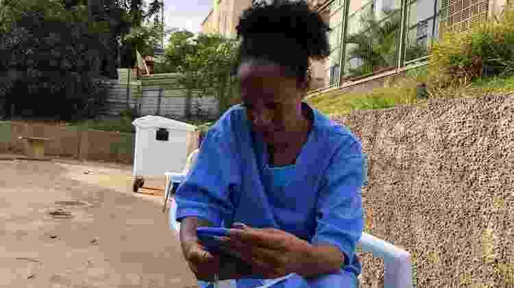 Renata Alves, moradora que se tornou o 'SAMU da favela' - Gabriela Sá Pessoa/UOL - Gabriela Sá Pessoa/UOL