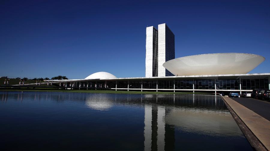Congresso é um dos locais com sobrevoo limitado em Brasília - Ricardo Moraes