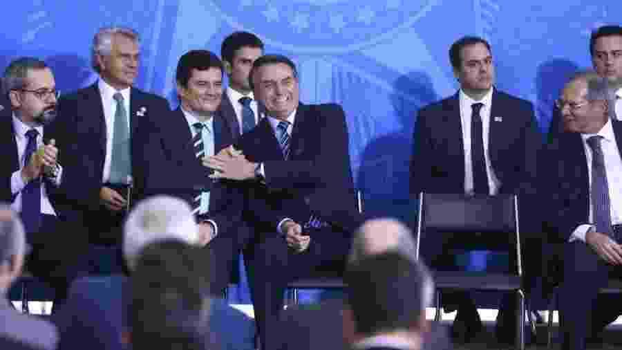 Sergio Moro deixou o governo Bolsonaro acusando o presidente de tentar interferir na Polícia Federal - VALTER CAMPANATO/AGÊNCIA BRASIL