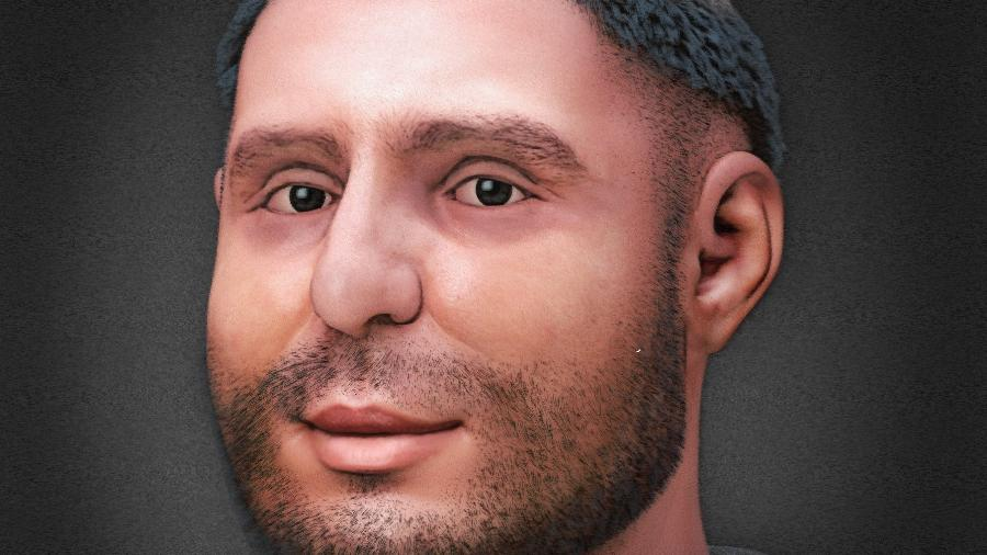 A reconstituição facial revelou um Santo Antônio mais rechonchudo do que normalmente se imagina e com sintomas da hidropisia - Arc-Team/ Centro Studi Antoniani/ Cicero Moraes