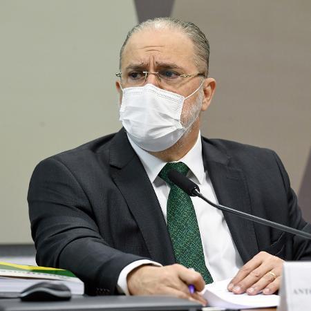 Augusto Aras é sabatinado na Comissão de Constituição e Justiça do Senado - Jefferson Rudy/Agência Senado