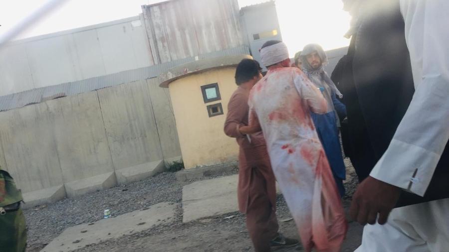 Civil tira foto de atentado em Cabul - Reprodução