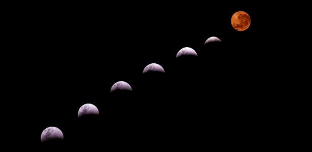 """Para alguns grupos religiosos, a última super lua foi um sinal do """"fim dos tempos"""" - Italo Santos/ Futura Press/ Estadão Conteúdo"""