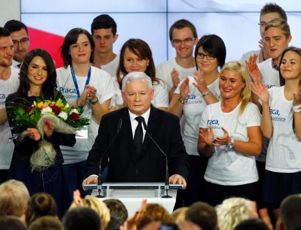 O partido de Jaroslaw Kaczynski saiu derrotado nas eleições municipais polonesas