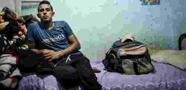 7.jun.2016 - Ehab Nassar, que entrou ilegalmente na Grécia há dois anos e depois foi deportado, agora está de volta a Burg Migheizil, no Egito - David Degner/The New York Times - David Degner/The New York Times