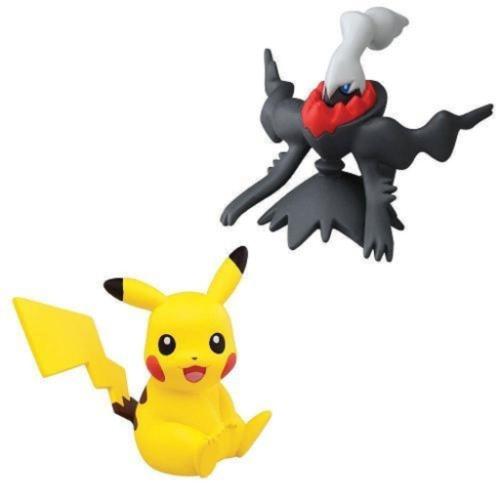Os bonecos dos pokémons Pikachu e Darkrai custam R$ 85,95 na Shoptime