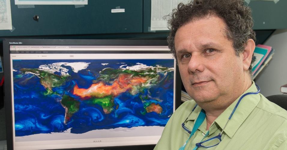 Arlindo Silva trabalha no centro Goddard da Nasa