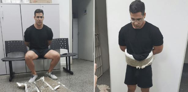 Tasso Jorge Nemer, de 21 anos, foi flagrado com skunk