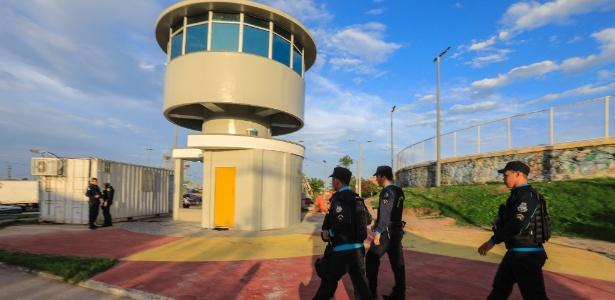Uma delas torres fica na avenida Castelo de Castro, no bairro Jangurussu, a menos de um quilômetro do Castelão - Jarbas Oliveira/Estadão Conteúdo