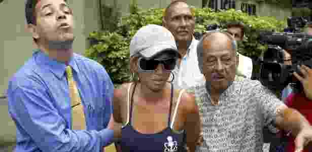 Adriana Almeida foi condenada a 20 anos de prisão pelo crime - REUTERS/Fernando Quevedo-Agencia O Globo