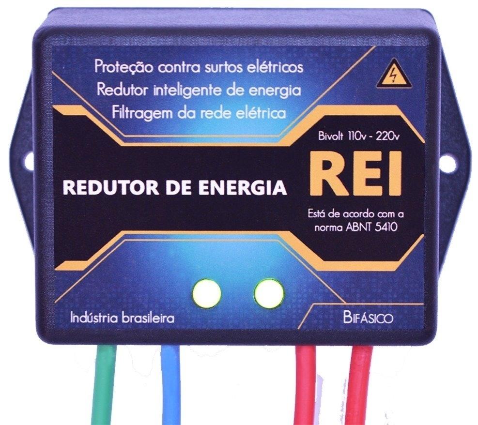 Redutor de energia Rei aparelho que promete economizar energia elétrica