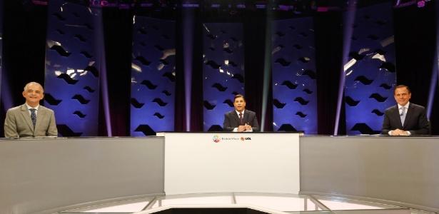 França e Doria participam de debate nessa terça-feira (24) em São Paulo