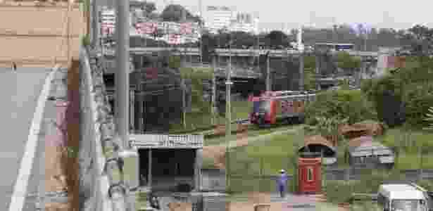 Prefeitura fez testes com trens vazios na manhã deste domingo (18) - Uriel Punk/Estadão Conteúdo