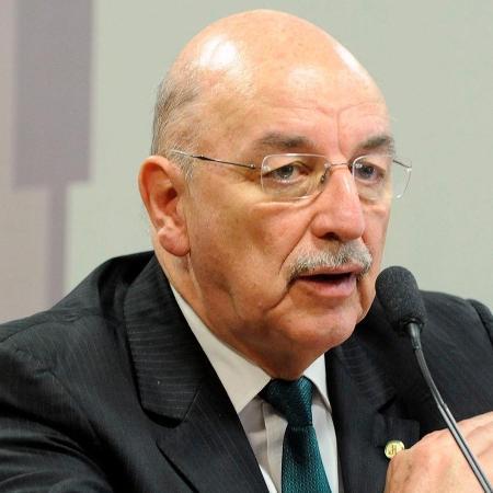 03.jul.2018 - Deputado Osmar Terra (MDB-RS) participa de audiência na Câmara - Luis Macedo/Câmara dos Deputados