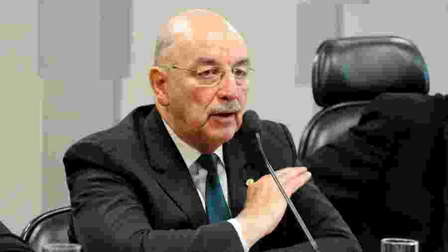 O ex-ministro da Cidadania e deputado federal Osmar Terra (MDB-RS) nega ter sido convidado por Bolsonaro para assumir o Ministério da Saúde - Luis Macedo/Câmara dos Deputados