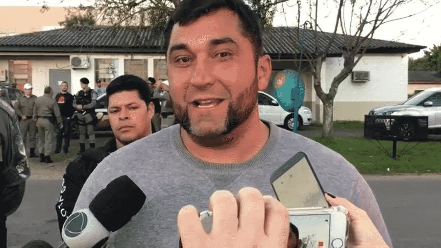 O professor Juliano Mantovani - Reprdução/RBS TV