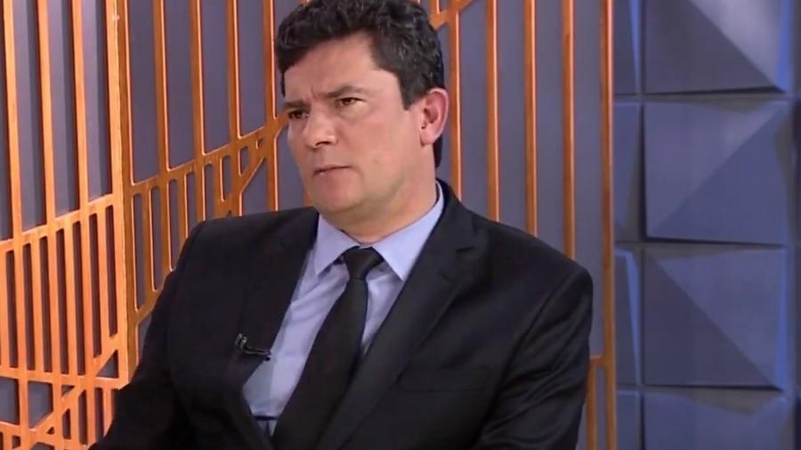 O ministro da Justiça, Sergio Moro, alega que investigação sobre morte de Marielle ainda não está sob sua jurisdição - Reprodução/SBT