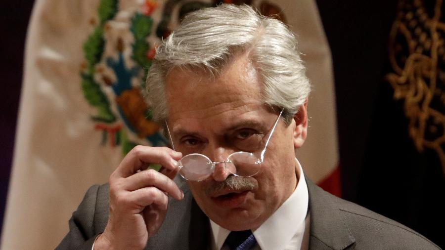Alberto Fernández, presidente eleito da Argentina - Luis Cortes/Reuters
