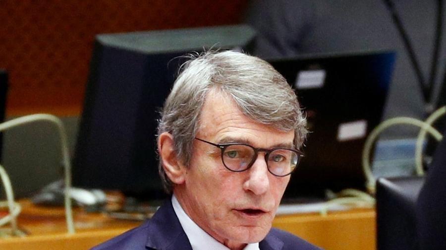 Sassoli, ex-jornalista e apresentador de notícias de televisão na Itália, foi eleito deputado do Parlamento Europeu pela primeira vez em 2009 - FRANCOIS LENOIR/Reuters