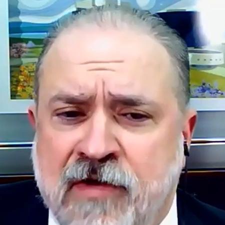 O procurador-geral da República Augusto Aras em entrevista ao vivo ao grupo de advogados progressistas Prerrogativas - Reprodução
