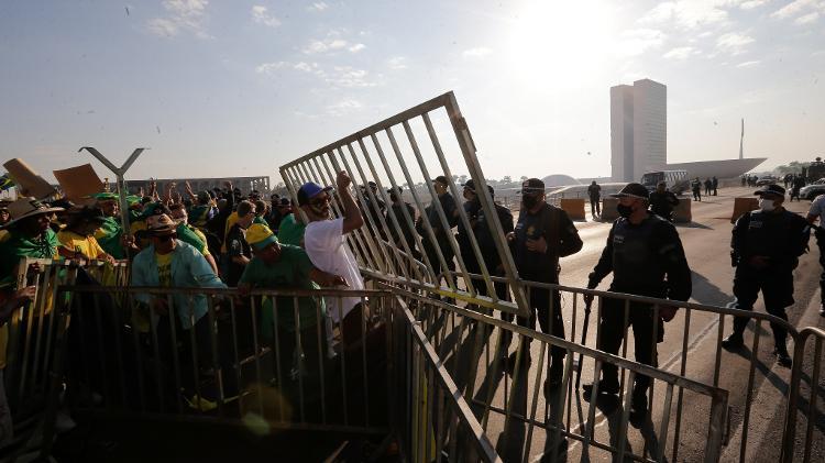 Protesto a favor de Bolsonaro - DIDA SAMPAIO/ESTADÃO CONTEÚDO - DIDA SAMPAIO/ESTADÃO CONTEÚDO
