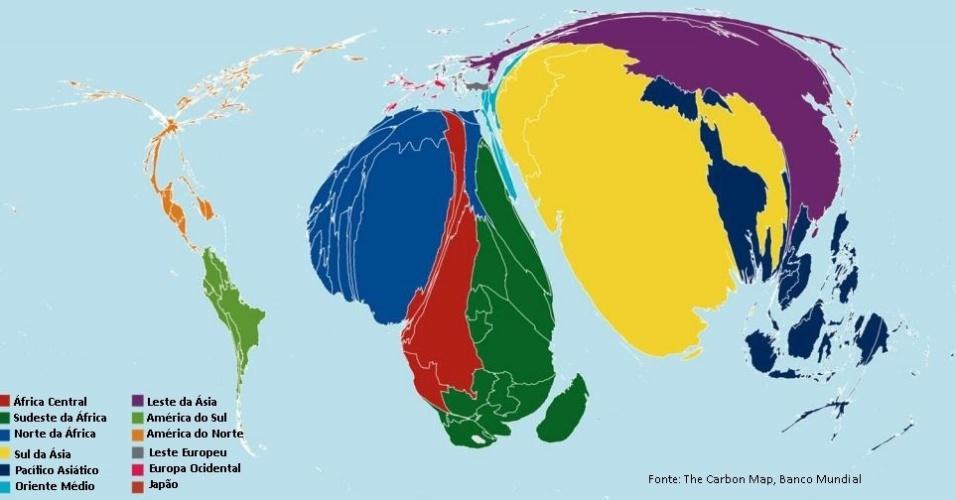 O mapa mostra a proporção da população de cada região que vive na extrema pobreza, ou seja, com menos de US$ 1,25 (R$ 4,60) por dia. Segundo a ONU, os níveis de pobreza foram reduzidos para menos da metade desde 1990. Mas o Bank of America Merrill Lynch estima que 14% da população mundial (cerca de 1 bilhão de pessoas) ainda vive na extrema pobreza