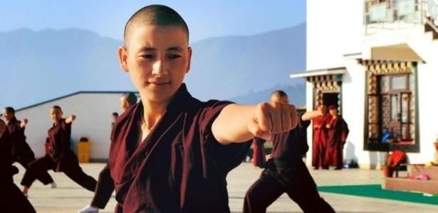 Monjas de Druk Gawa Khilwa são as únicas que lutam kung fu no Nepal