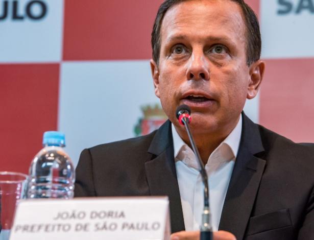 João Doria durante coletiva de imprensa realizada nesta segunda (2)