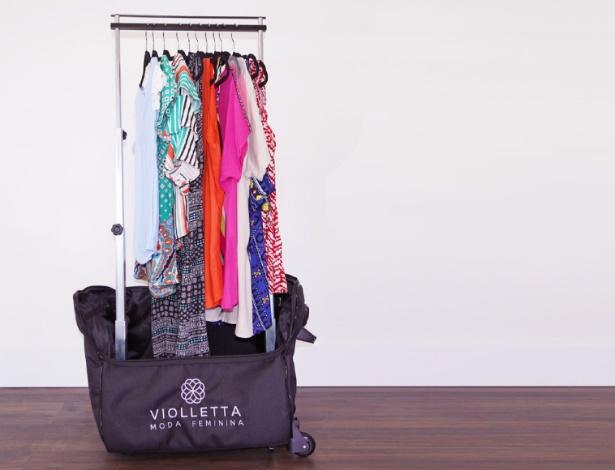 Franquia Violletta, que faz venda direta de roupas