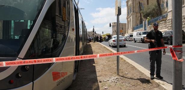 Local onde turista britânica foi morta a facadas em Jerusalém