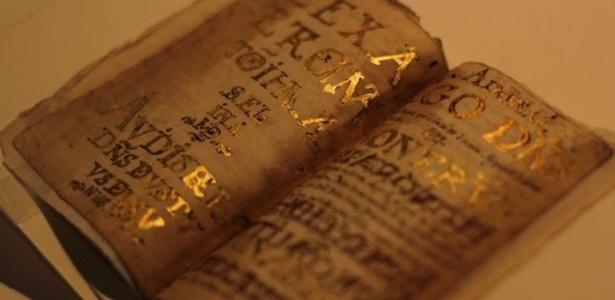 Luis de Carvajal usou pó de ouro para decorar seus manuscritos