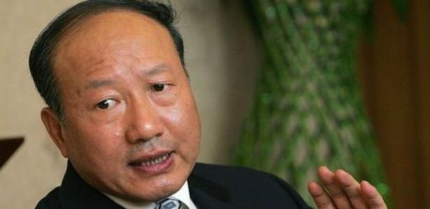 Chen Feng é fundador do grupo HNA e da companhia aérea Hainan Airlines - Frederic J. Brown