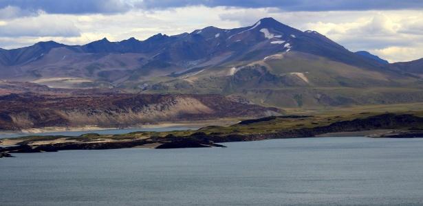 A Lagoa de Maule, no Chile